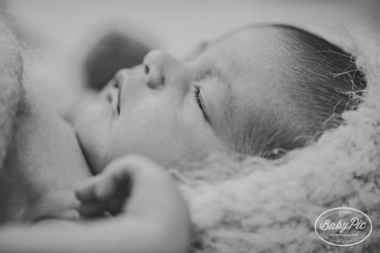 detalles de las pestañas de los bebes en nuestro estudio